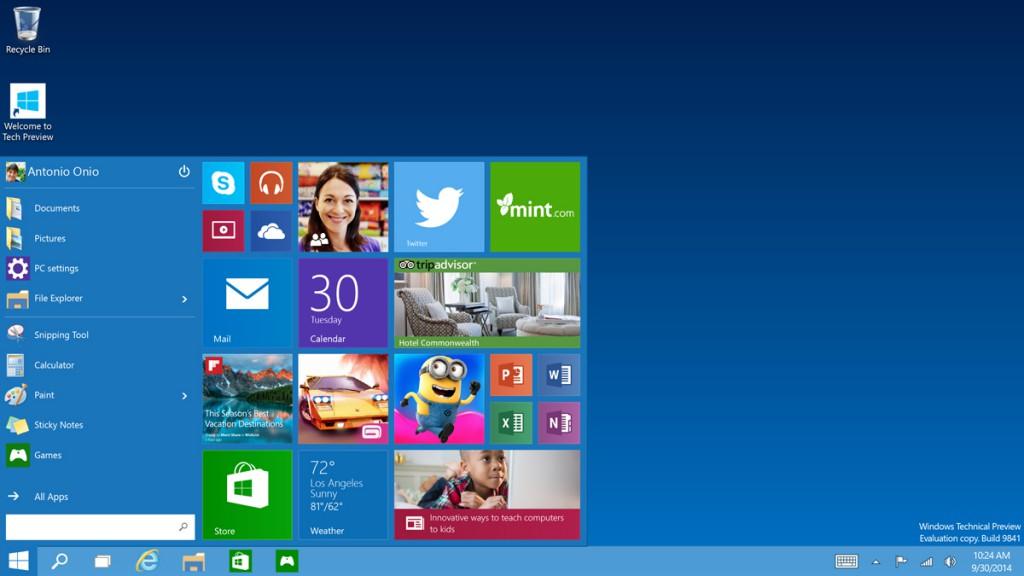 Windows10の驚きの内容と、新機能まとめ