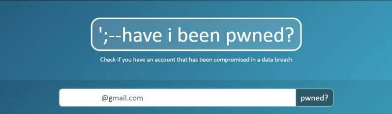 Have I been pwnedの使い方